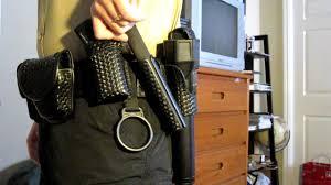 wearing duty belt youtube