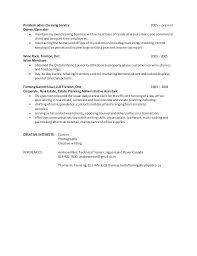 House Cleaning Resume Sample For Job Resumes
