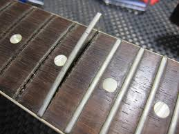 Pulling Old Worn Frets