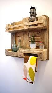 Oak Bathroom Wall Cabinet With Towel Bar by Best 25 Pallet Towel Rack Ideas On Pinterest Towel Racks Diy