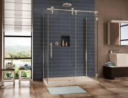 Tilting Bathroom Mirror Bq by Bathroom Great Bathtub Shower Door Ideas For Green Themed