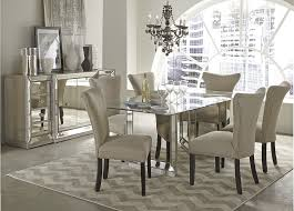 dining room furniture at horchow mirrored set interesting table