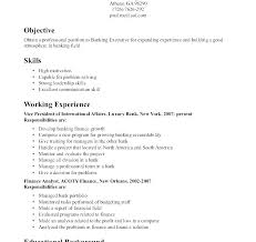 Skills For Resume Examples On Beginners Samples