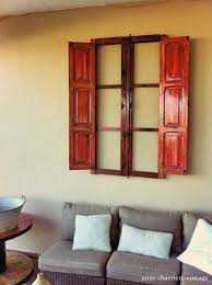 Spanish Wall Decor Repurpose A Window To Outdoor