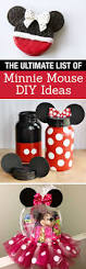 Minnie Mouse Painted Pumpkin by The Ultimate List Of Minnie Mouse Craft Ideas Disney Party Ideas