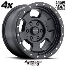 4 American Racing 969 Ansen OfRd 18