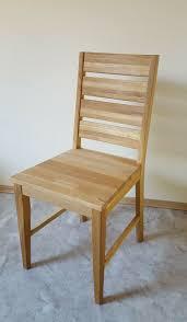 2er set stühle wildeiche massivholz geölt esszimmerstuhl stühle stuhlset holz