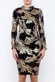 bio black gold sequin dress from naples by bio new york u2014 shoptiques