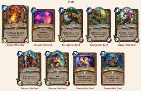 Hearthstone Decks Druid Combo by Wotog Review The Druid Class Hearthstone Amino