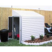 Arrow Woodridge Steel Storage Sheds by Arrow Shed Yardsaver 4 X 7 Ft Shed Hayneedle