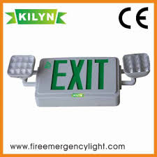 kln twet100gr3w china spot exit sign with wall mount