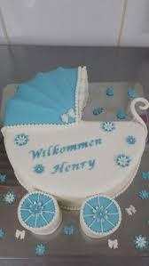 kinderwagen torte babyparty cupcakes kuchen zur geburt