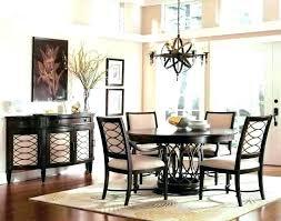 Circle Dining Table Kitchen Set Circular Room