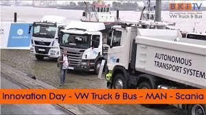 Innovation Day Von Volkswagen Truck & Bus - MAN Scania Und Co. - YouTube