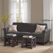 Makonnen Charcoal Sofa Loveseat by Add Style And Comfort To Any Room In The House With This Griffin