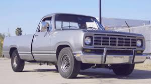 This V12 Cummins Turbo Diesel 1973 D200 Rollsmokey Is Low Yet Not ...