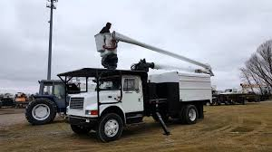 Forestry Bucket Truck For Sale - YouTube 2001 Intertional 2654 Hiab 140 Knuckle Boom Truck M46673 94 Gmc Topkick 60 Forestry Bucket Reach Altec Chipper Dump 2008 Freightliner With Liftall Crane For Sale Trucks Custom One Source Home Terex Hiranger Xt70 Wallpaper Centec Equipment Blog Inventory Bucket Trucks Bases By Misterpsychopath3001 On Deviantart Gmc C7500 Topkick 81 Gas Altec Over Center Forestry Bucket