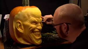Joker Pumpkin Carving Patterns by The Joker Pumpkin Carving By Andy Bergholtz Youtube