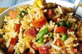 cuisiner des haricots verts riz sauté aux haricots verts recette chinoise