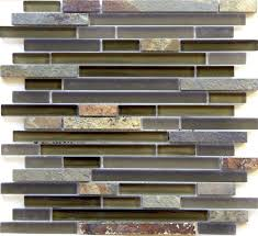 linear glass and mosaic tile arizona tucson mix