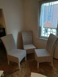 esszimmerstühle stühle esstisch rattan dänisches bettenlager