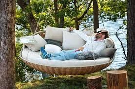 Hammock Indoor Yoga Tree Bed Hanging Suspended Outdoor Swing Chair