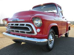 1957 Chevrolet 3100 Pick Up Truck Step Side Beautiful Restoration