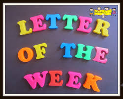 Letter of the Week Program Introduction How To Run A Home Daycare