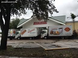 A North Miami Beach Donut Shop Uses Delivery Trucks To