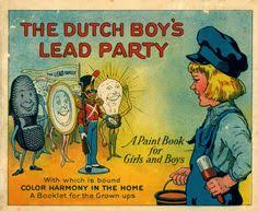 The National Lead Company Colouring Book Cover 1923