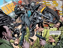 The Series Focuses On Bruce Waynes Return To Timeline After Being Banished By Darkseid In Final Crisis Witnessing A Future Of Crime And Death