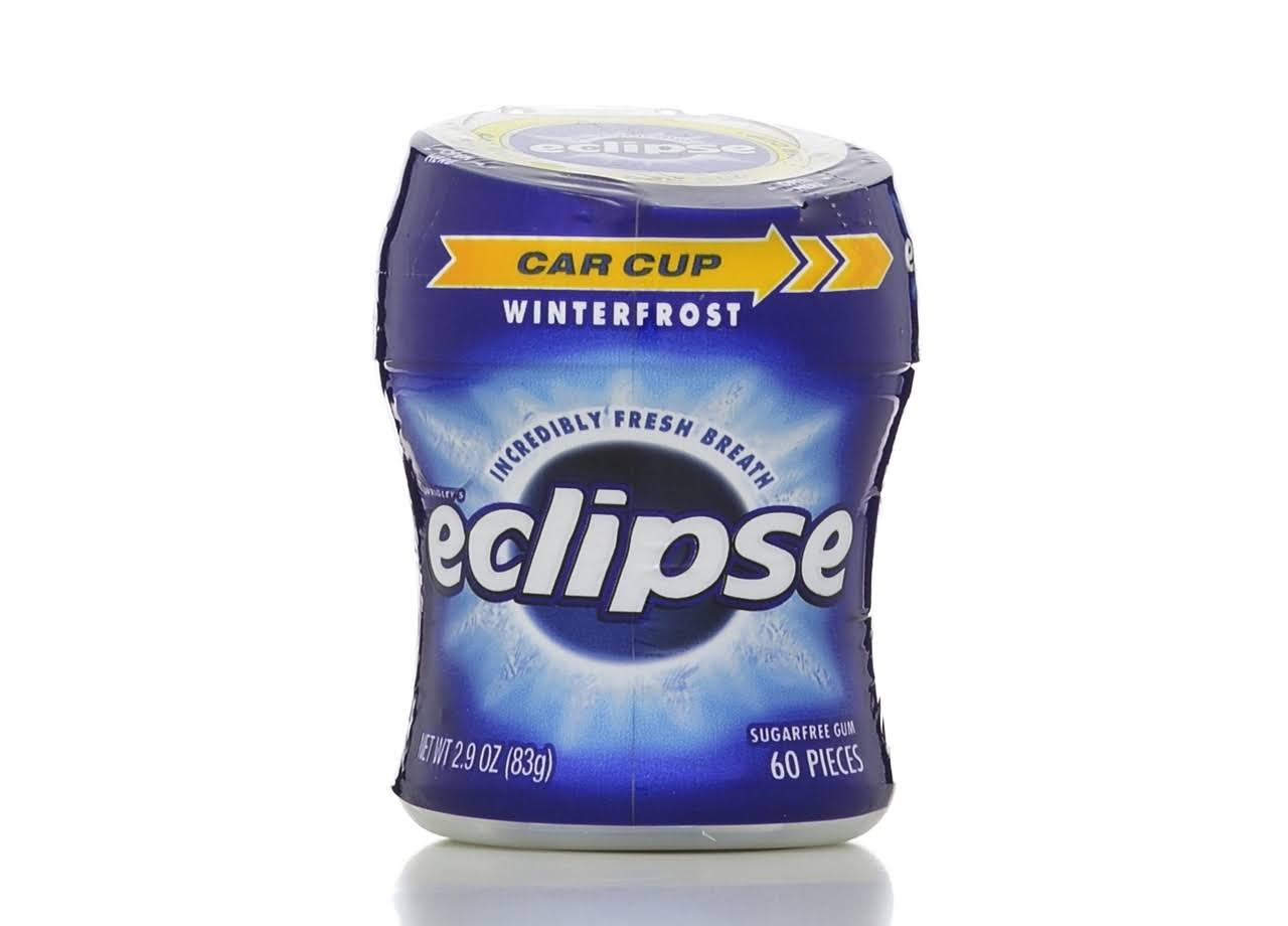 Eclipse Winterfrost Sugarfree Gum - 60 Pieces, 2.9oz