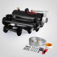 Train Air Horn Kit W/12V 150PSI Air Compressor Quad Trumpet Huge ... Train Horn Kit For Truck Kleinn Pro Blaster Air Kits Horns Trucks Canada Best Resource 150psi 150db 12v Car 6 Liter Tank Compressor 4 Buy Iglobalbuy 125db Black Musical La Cucaracha 5 Trumpet Heavy Duty Emergency Fire Commercial Installing On Your Kit Tips Demo Of Hornblasters Install Truckin Magazine And Aw Direct Lubbock Knight Knights Clean And Mean 2014 Ram 2500 Model Hk6 Triple Hk9 Best Price Larath Car Boat Truck 178db 12v Air Horn Compressor Dual