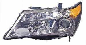 2007 2009 acura mdx front headlight right passenger side 2008
