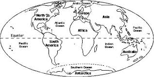 Imposing Ideas World Coloring Page Globe Map Pages Kids Aim