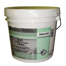 johnsonite 965 flooring and tread adhesive gallon