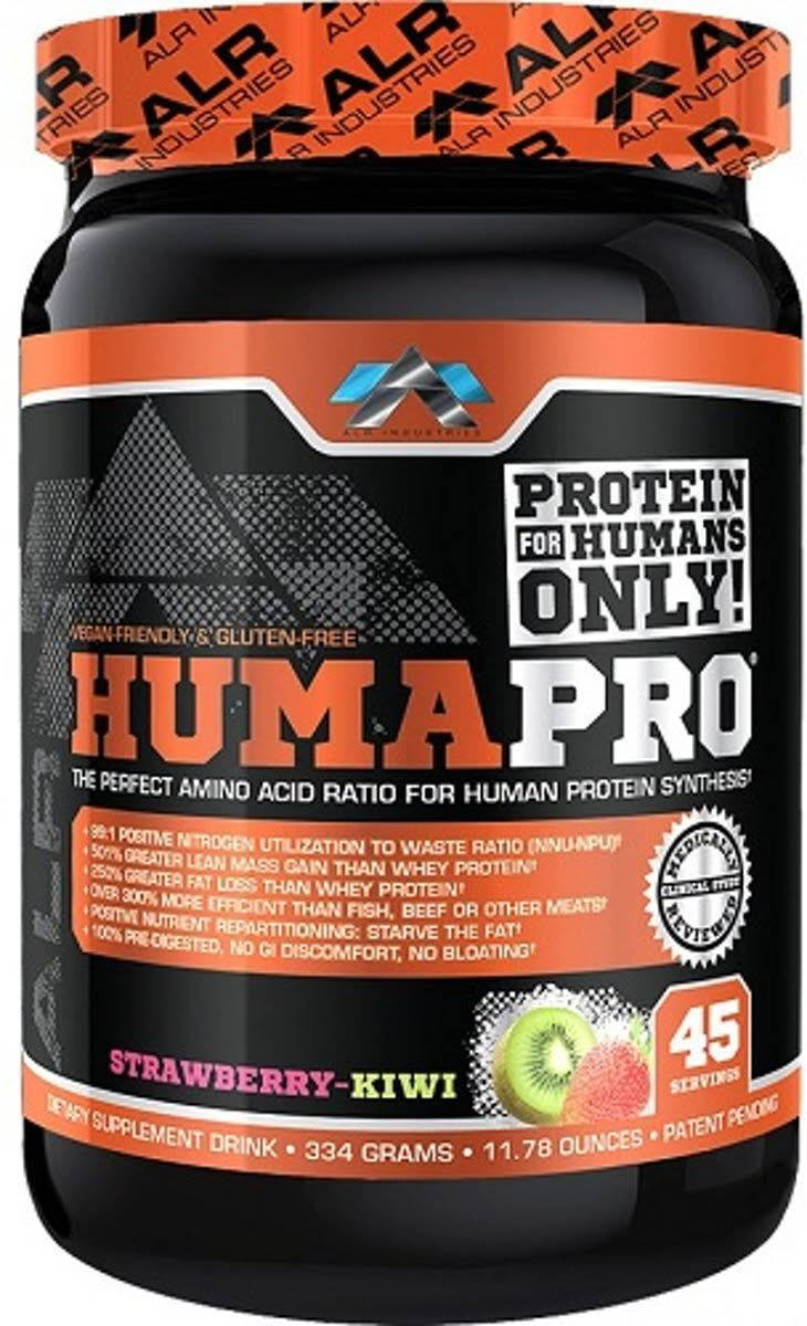 ALR Industries Humapro Powder - Strawberry Kiwi, 334g