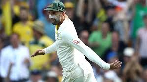 Nathan Lyon Celebrates Running Out James Vince During Day One Of The First Test Match