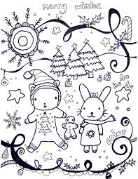 Winter Coloring Pages New For Kids Best Free Printable