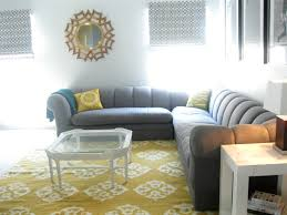 living room yellow orange lights porch sunroom teal pink garden