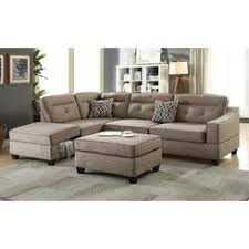 Poundex Bobkona Sectional Sofaottoman by Sectional Sofas Sectional Couches Sears
