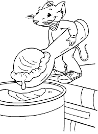 Free Stuart Little Coloring Page Pages 21 Printable Find This Pin And More On Preschool Ice Cream