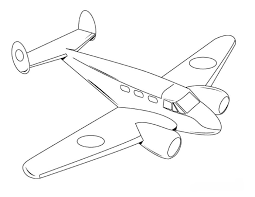 Planes Coloring Pages For Vehicle Fun