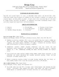 Legal Resume Example Qualifications On A Examples Attorney Lawyer Sample Gray Summary