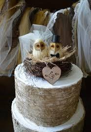Owls Wedding Cake Topper Barn Rustic OWLS 2290783