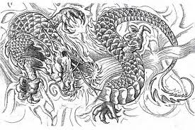 Free Coloring Complex Pages Of Dragons At Advanced