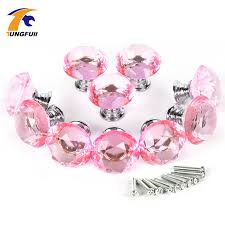 compare prices on pink glass dresser knobs online shopping buy