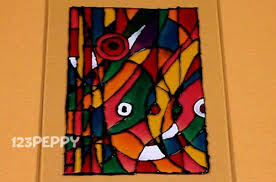 Free Painting Craft Pro How To Make An Abstract Glass