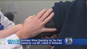 Lightheadedness When Standing by Dizziness When Standing Up Too Fast Caused By Low Blood Pressure