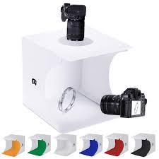 100 Studio Tent Mini Photo Jewelry Light Box Kit SENLIXIN Portable Foldable Small Home Photography Light Box Booth Shooting With LED Light
